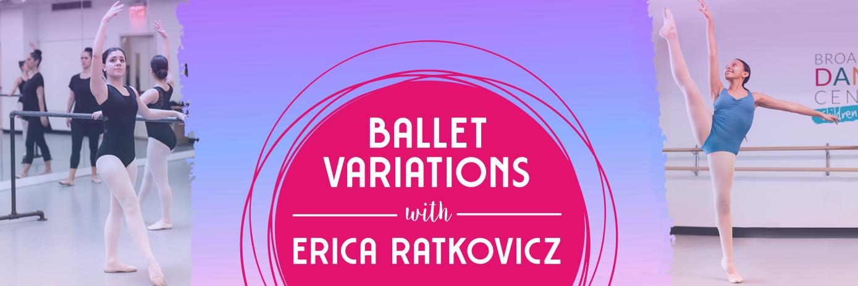 Ballet Variations Header