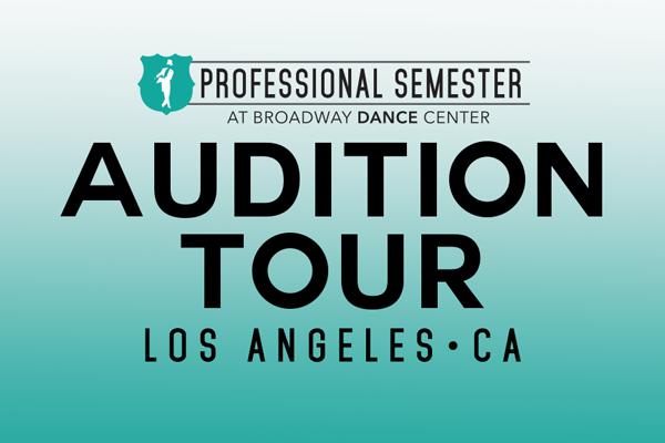 Professional Semester Audition Tour • Los Angeles, CA
