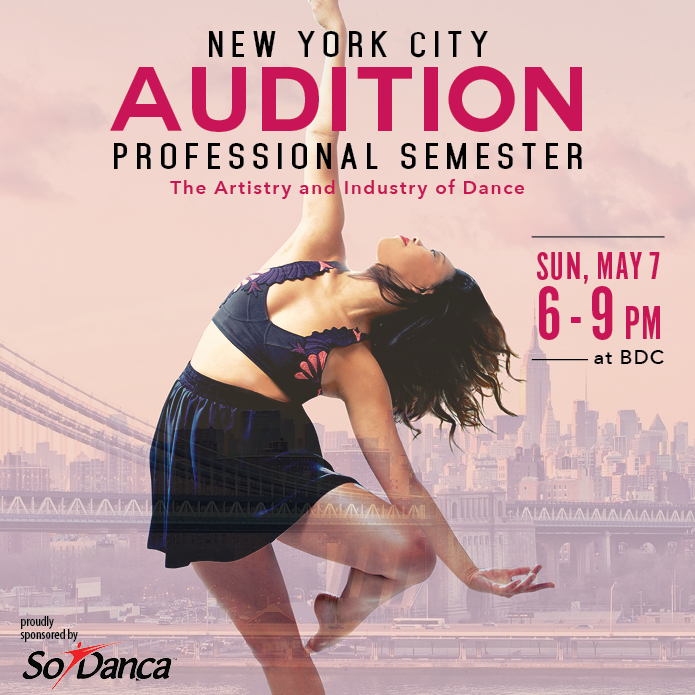 Professional Semester Audition NYC 2017