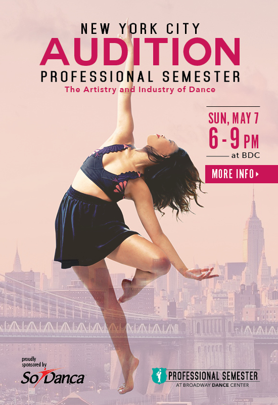 Professional Semester NYC Audition 2017