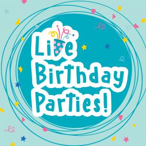 Live Birthday Parties