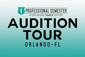 Professional Semester Audition • Orlando, FL