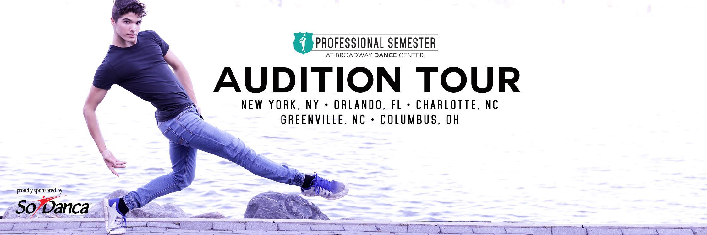 Professional Semester Audition Tour