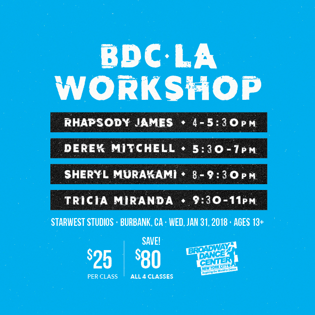 BDCLA Workshop Schedule