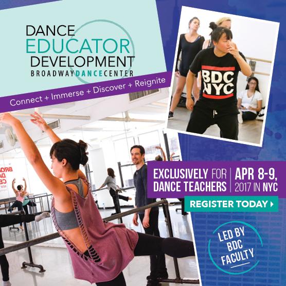 Dance Educator Development   Apr 8-9, 2017   REGISTER TODAY!