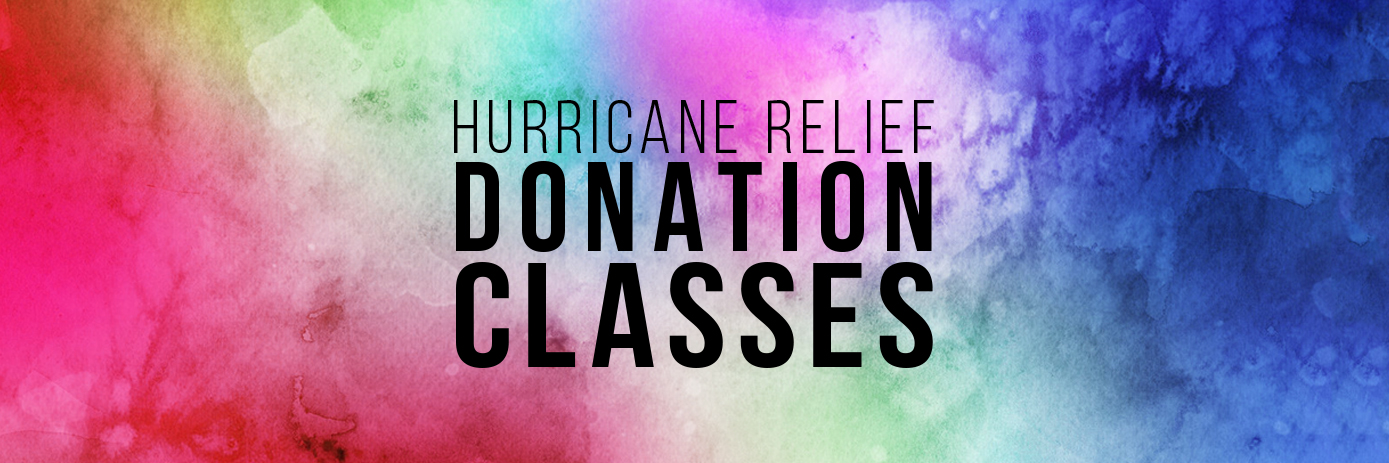 Hurricane Relief Donation Classes