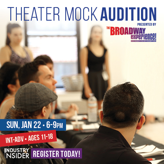 Theater Mock Audition presented by The Broadway Experience