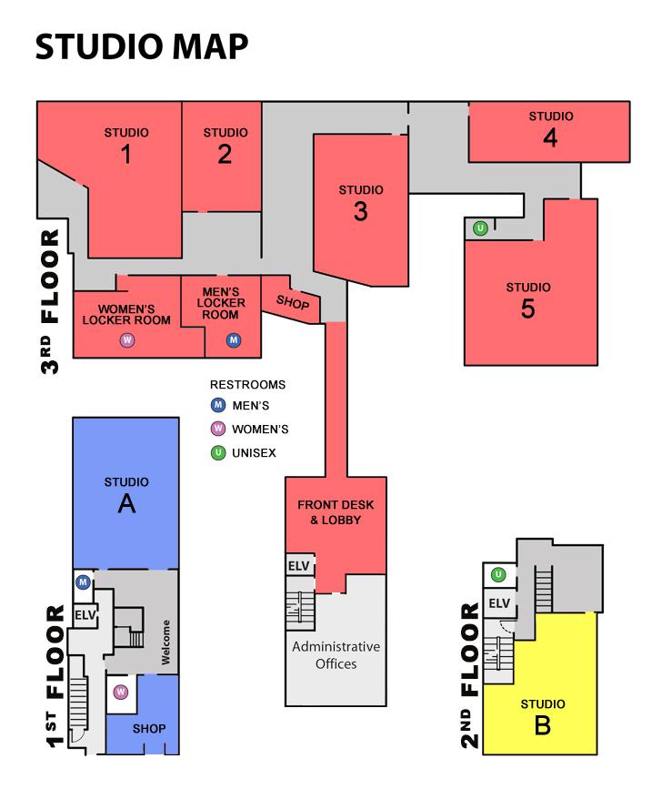 Studio Map